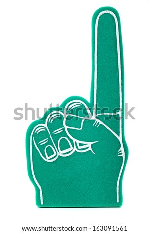 free photos foam finger avopix com