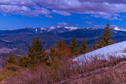 A gregarious view from University Mountain flanked by the majestic Sapphire Mountains!