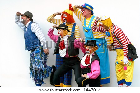 A group of clown