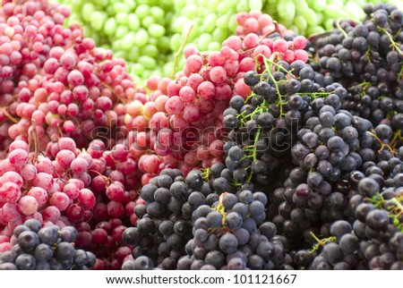 A group of grapes
