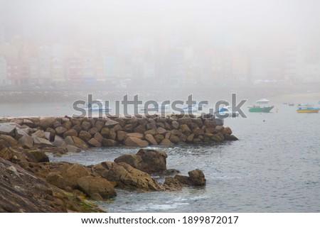A Guarda, Galicia, Spain - August 2020 Foto stock ©