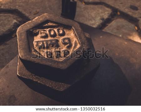 A Half Kg weight