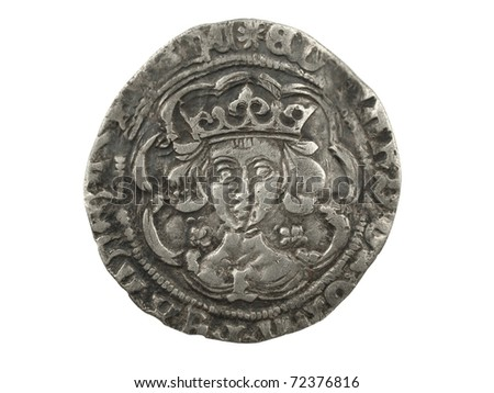 A hammered silver groat of Edward IV 1464-1470  - metal detecting find