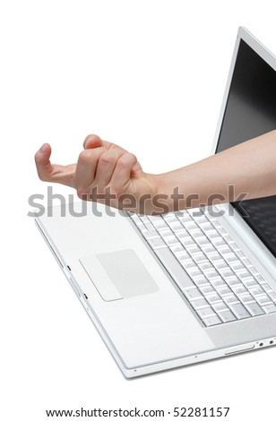 A hand luring you closer
