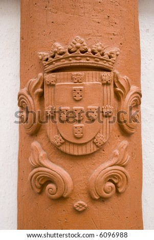 Gallery Of Artifacts From Portugal http://www.shutterstock.com/pic-6096988/stock-photo-a-hand-made-artifact-with-portugal-symbol-flag.html