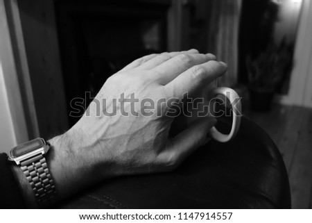 A Hand of a Suffering Person
