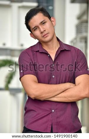 A Handsome Confident Filipino Male #1491900140