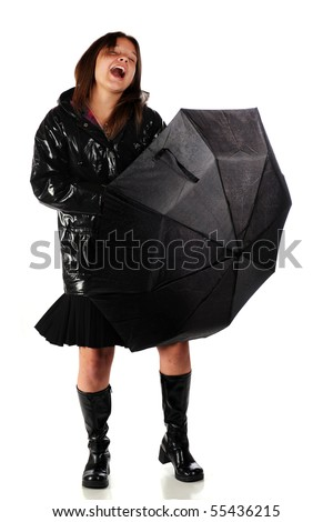 Shiny Navy Pearl Trench Coat Raincoat Pvc Vinyl - Prices, Reviews