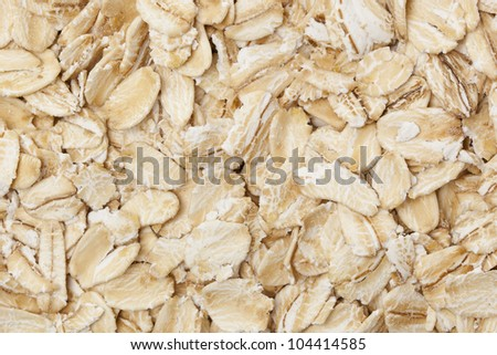 A Healthy Dry Oat meal background
