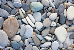 A heap of pebbles. Abstract background