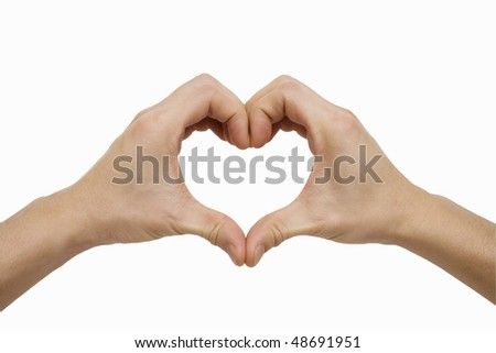 A Heart Shape