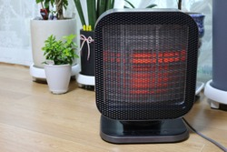 A heater that can warm the air at home. South Korea.