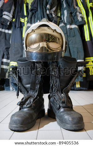 Firefighter Boots Cake Ideas And Designs