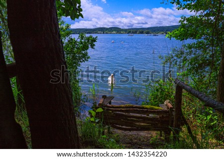 a hidden idyllic spot on the western shore of Lake Constance #1432354220