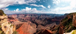 A high-res panorama picture of the Grand Canyon