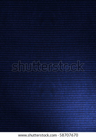 A high-resolution dark blue corduroy fabric texture that can be used as a pattern and tiled seamlessly.