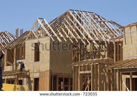 A home takes shape.
