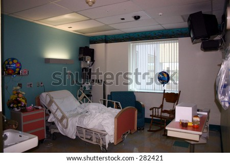 A Hospital Room. #282421