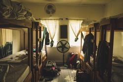 A hostel, Belize