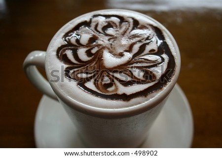 a hot chocolate from Java house in Nairobi Kenya