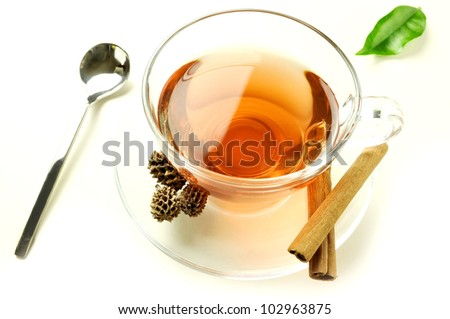 a hot cup of tea