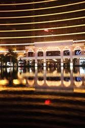 A hotel resort in Macau