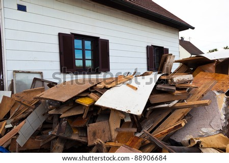 a house is cleared when you move.