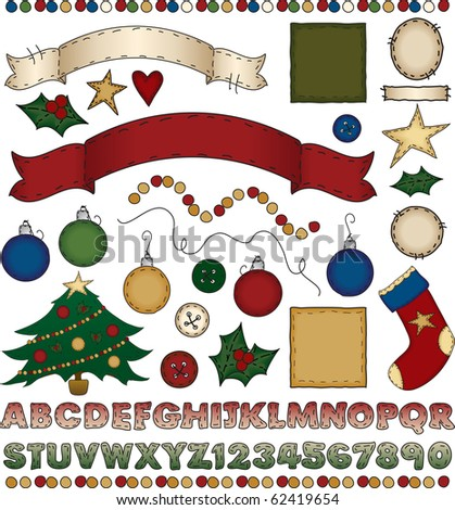 A huge assortment of holiday goodies