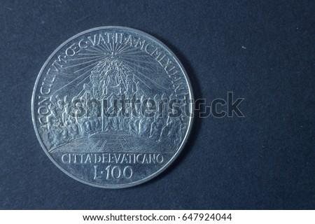 a hundred lire ioannes xxiii...