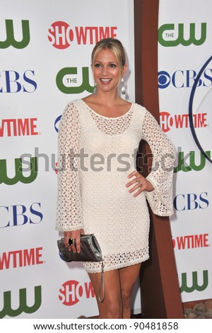 A.J Cook, star of Criminal Minds, at the CBS Summer 2011 TCA Party at The Pagoda, Beverly Hills. August 3, 2011  Los Angeles, CA Picture: Paul Smith / Featureflash