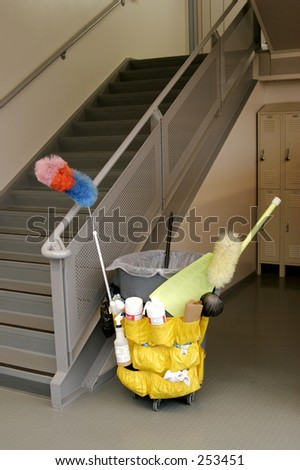 A Janitor's Cart