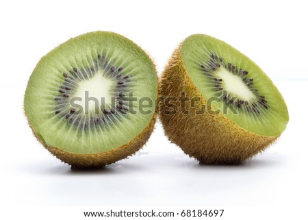 Kiwi bird cut in half - photo#25