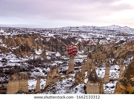 Aşıklar Hill, Cappadocia, Balloon Tourism, Urgup, Fairy Chimney, Nevsehir Stok fotoğraf ©