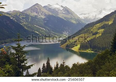 A Lake in Zaltsburg land (Austria)