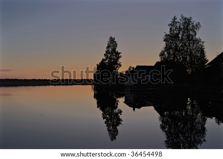 A lake near Oulu during early fall