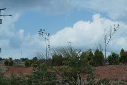 A landscape in dompak island, Indonesia