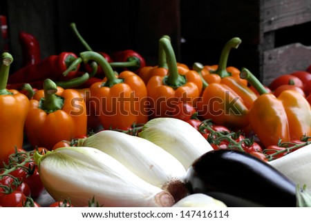 A large collection of colorful fresh produce