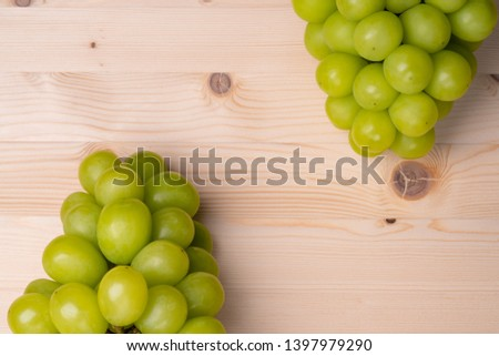 a large grain muscat grape. #1397979290