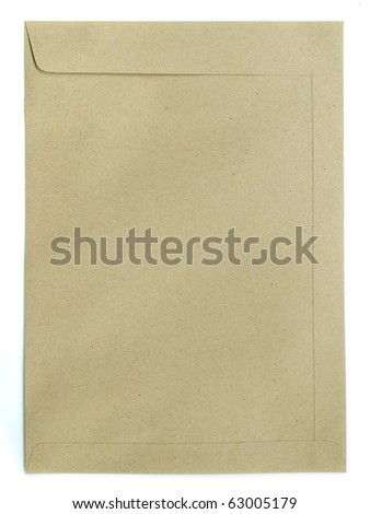 A large size of brown envelope