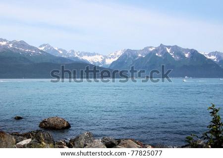 A Late Afternoon View of Resurrection Bay, Seward, Alaska