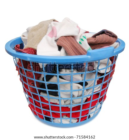 A Laundry basket on home care