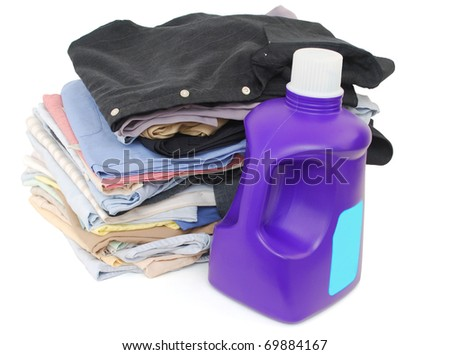 A laundry of male clothes