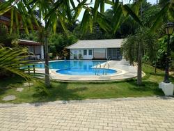 a lavish swimming pool coorg