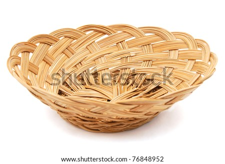 stock photo : A lifetime coconut basket