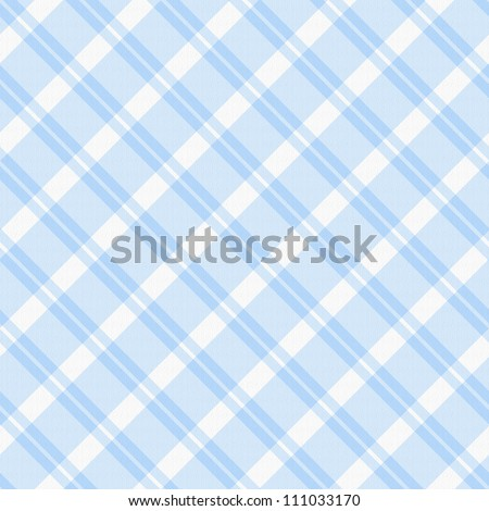 A light blue plaid fabric  background that is seamless