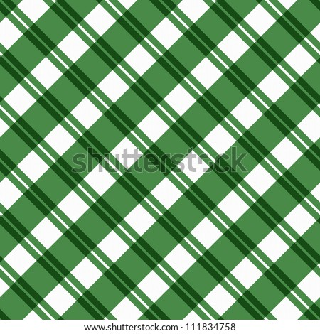 A light green plaid fabric background that is seamless and repeats