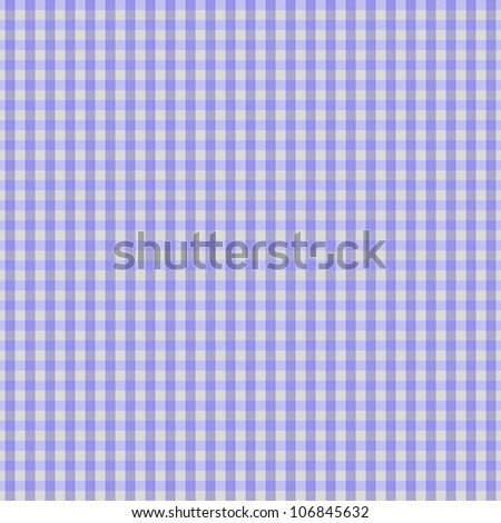 A light purple gingham fabric background that is seamless