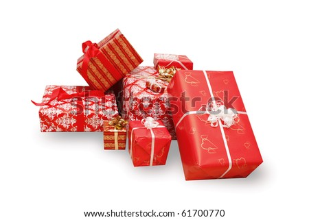 A lot of christmas presents