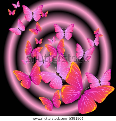 pink butterfly wallpaper. purple and pink butterfly