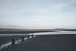 A Low Tide At Malahide Beach